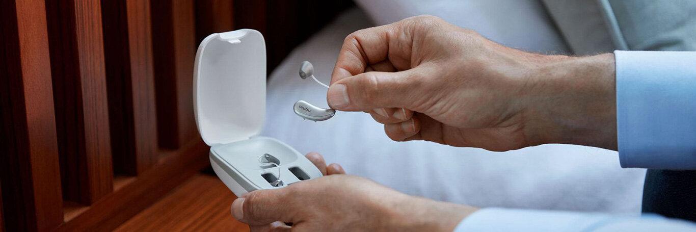 Appareils auditifs rechargeables par induction avec batterie Lithium-ion nouvelle génération